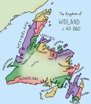 Widland map
