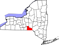 200px-Map of New York highlighting Broome County svg