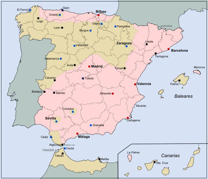 Карта на июль