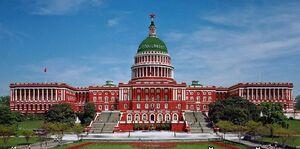 Красный дом - правительство соц. Америки