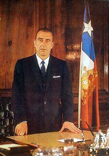 Eduardo Frei Montalva Presidente (a color)