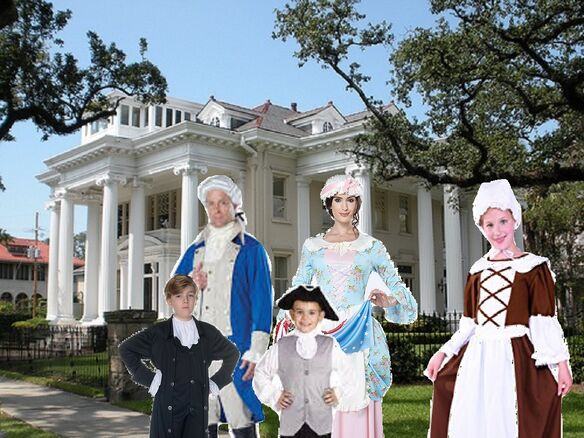George Washington and his Family