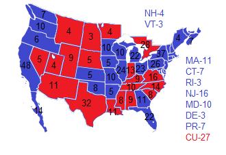 United States Presidential Election Napoleons World - 1992 election us map