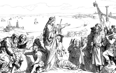 Founding of Isafjordhur (The Kalmar Union)
