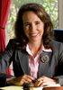 Gabrielle Giffords working at desk crop