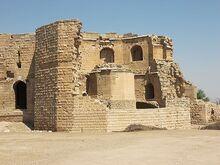 Harran castle bricks ruins