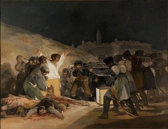 Расстрел мадридских повстанцев