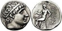 Antiochos I Tetradrachm 620447