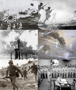 Infobox collage for WWII central victory.PNG