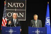 McCain with Jaap de Hoop Scheffer