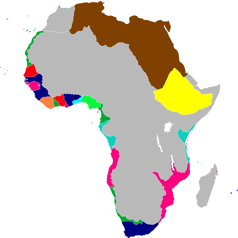 Image scramble for africa map 1848g alternative history scramble for africa map 1848g gumiabroncs Choice Image