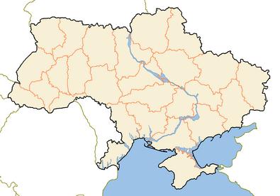 Административно-территориальное деление Украины