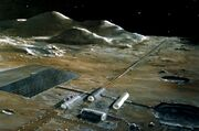 Lunar base concept drawing s78 23252