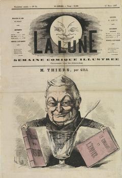 Карикатура на Тьера (2)