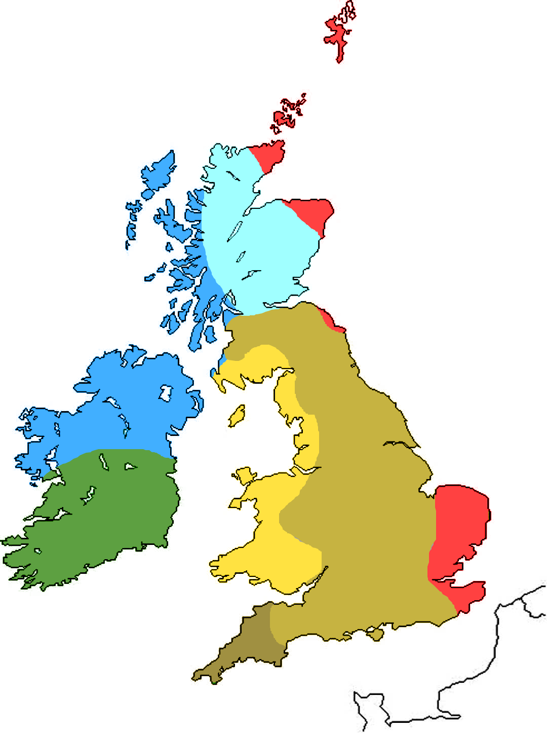 Image - British Isles Map Game Culture.png   Alternative History ...