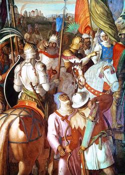 The Saracen Army outside Paris, 730-32 AD