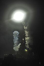 USS Barry Tomahawk launch Operation Odyssey Dawn