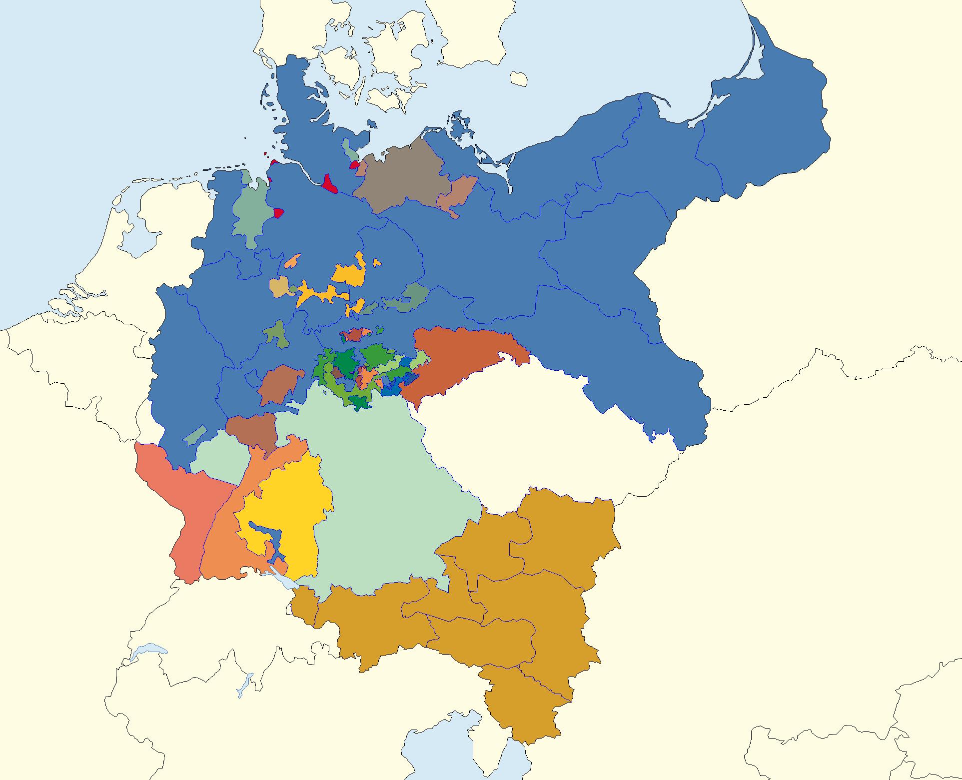 constituent states of the empire