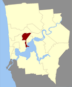 Map of Subiaco County