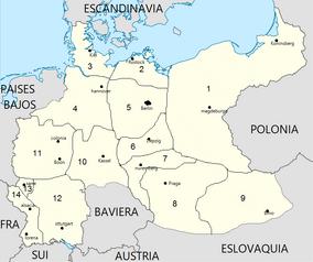 Organizacion territorial alemana