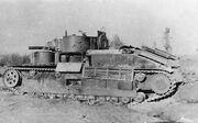 Soviet tank T-28 6