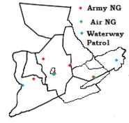 Susquehanna Military Bases