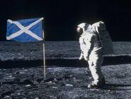 Независимая Шотландия на Луне