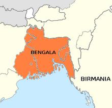 Bengala mapa