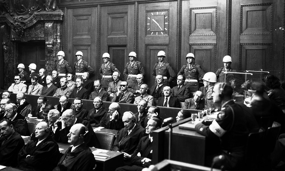 origins and history of tribunals In the prospect of an international criminal court lies the promise of universal justice that is the simple and soaring hope of this vision.