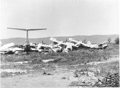 Разбомбленная чеченская авиация