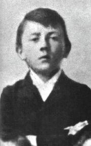 Adolf Hitler as a child