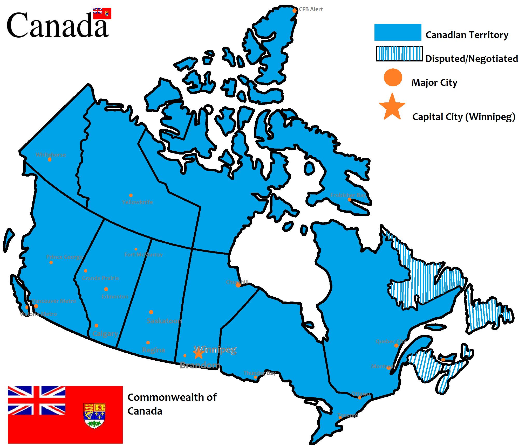 image canada provinces blank alternative history
