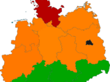 Nordic Germany (Night of the Living Alternate History Map Game)