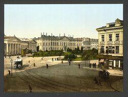 Варшава в начале XX века