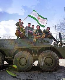 Российские войска в Назрани