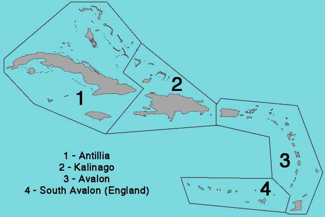 Antillies Map VINW