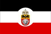 Bandera del Africa Oriental Alemana -Durante el Imperio y el nazismo- (EUH)