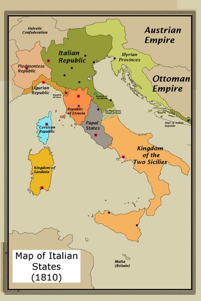 Italian States in 1810 (CtG)