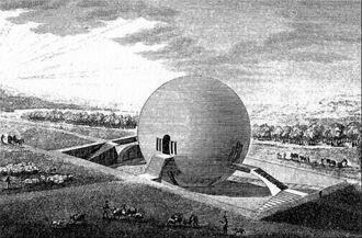 Ledoux Haus des Gaertners Chaux Projekt 1789