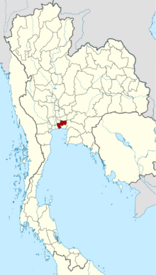 Location of Bangkok, Thailand (Satomi Maiden ~ Third Power)