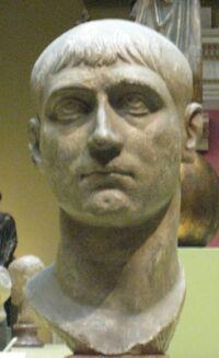 Maxentius 4th century sculpture