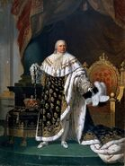 800px-Lefèvre - Louis XVIII of France in Coronation Robes