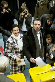Anders Fogh Rasmussen Election 2007