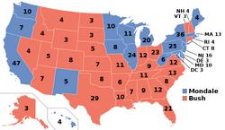 Elecciones Presidenciales de Estados Unidos de 1988 (La Elección del Zar)