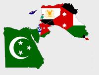 Mapa alterno Medio Oriente