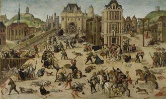 Masacre de San Bartolomé (François Dubois)