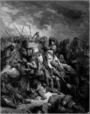 474px-Gustave dore crusades richard and saladin at the battle of arsuf