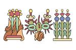 Azteken flagge