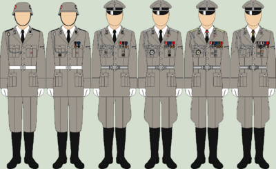 Die ss ceremonial uniforms