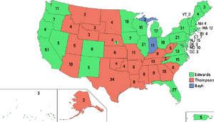 Election Map, 2008 (1861 HF)